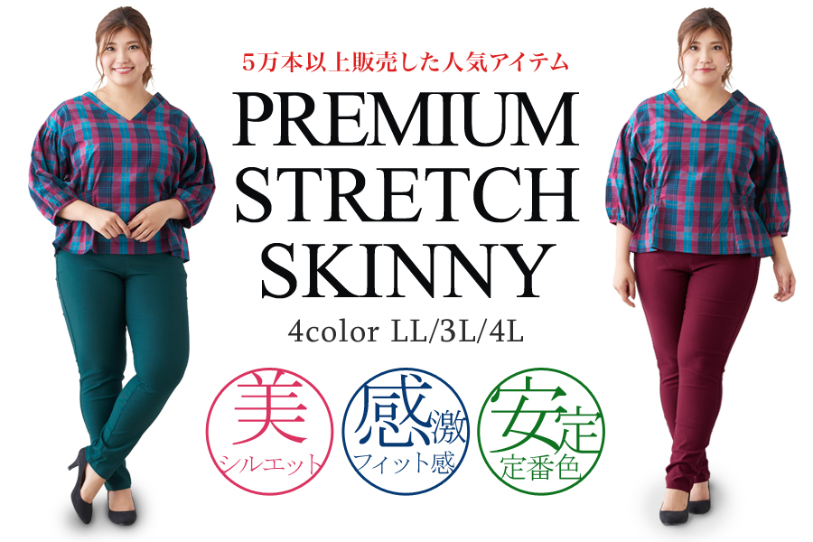 Premium Stretch skinny pants